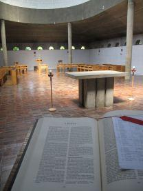 View from the Sanctuary Lectern